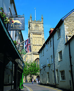 Cirencester church tower